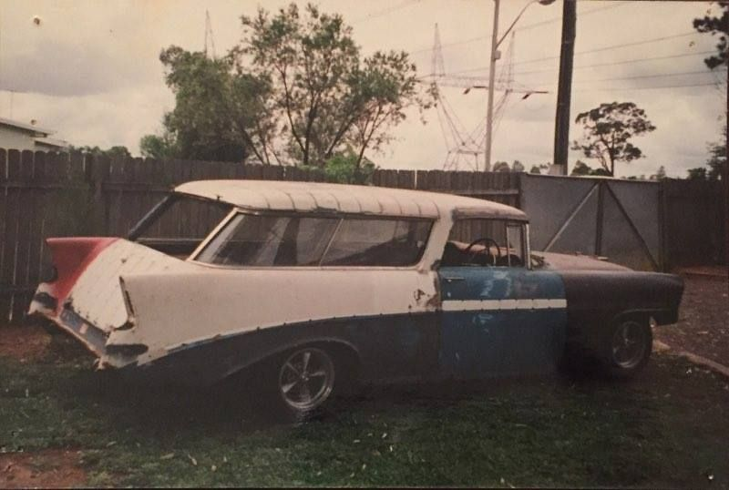 1956 Chevrolet Nomad Project In Australia Since Early 1980s
