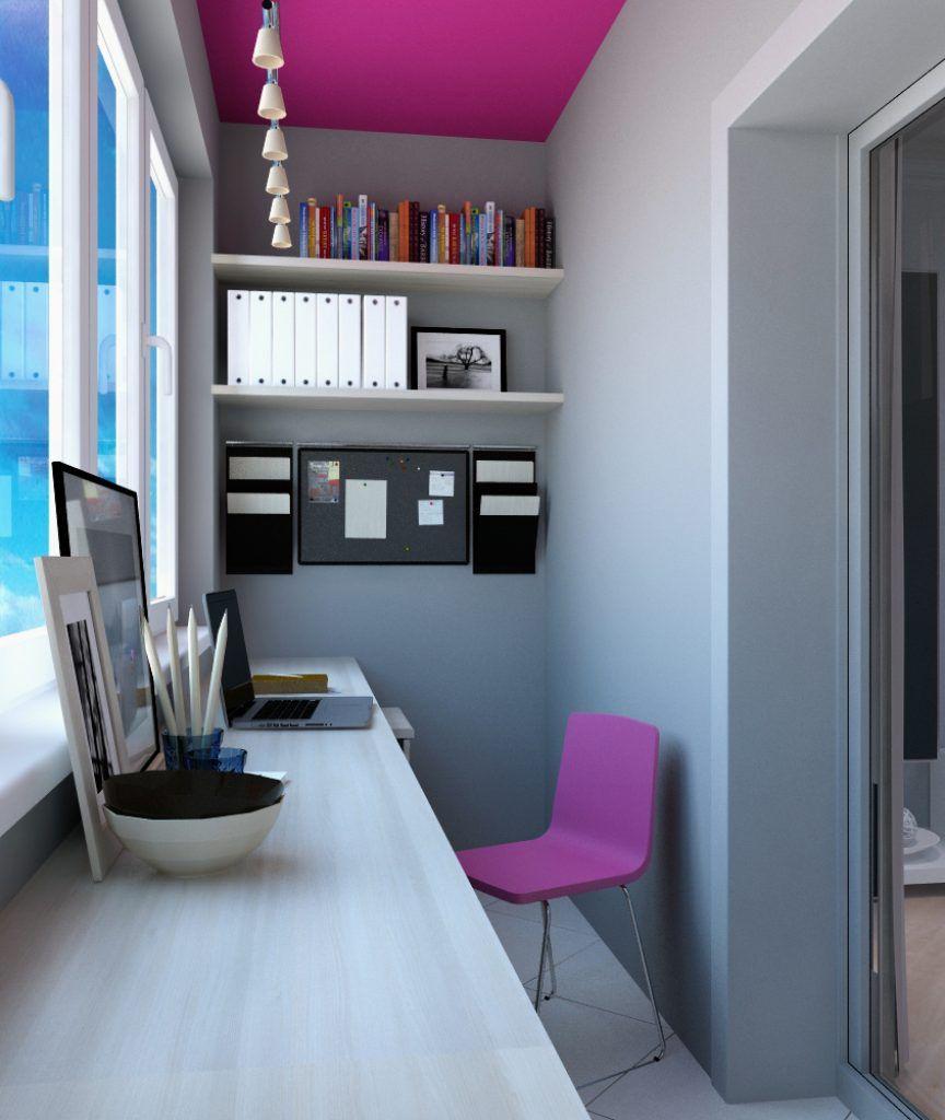Дизайн Балкона Со Шкафом: 165+ (Фото) Современных Идей ...