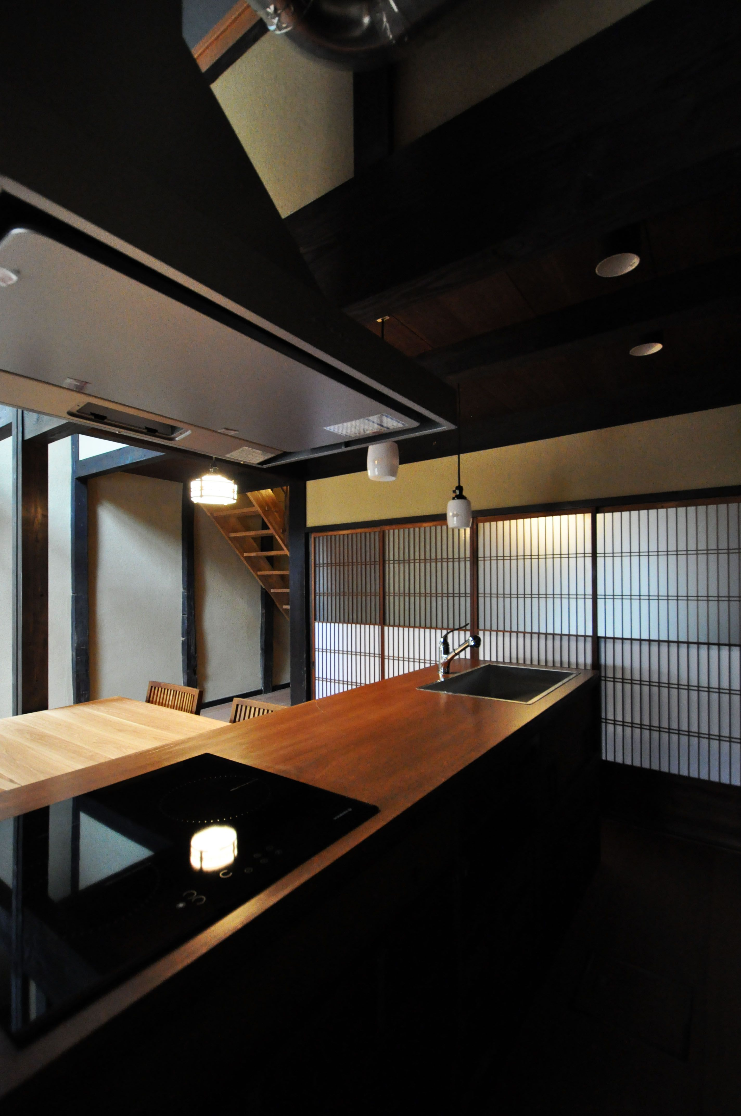 japan kyoto nishijin kyomachiya japanese home design japanese interior design japanese home on kitchen interior japan id=88592