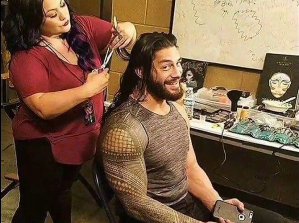 Wwe Roman Reigns Long Hairstyle 2019 Long Hair Styles Short Hair Styles For Round Faces Wwe Roman Reigns