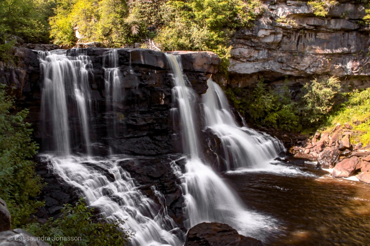 Chasing waterfalls at West Virginias Blackwater Falls