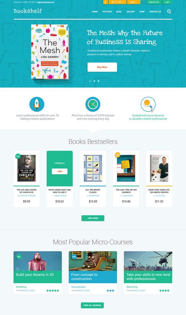 15+ Most Vibrant and Colorful WordPress Themes   PSDTemplatesBlog ...