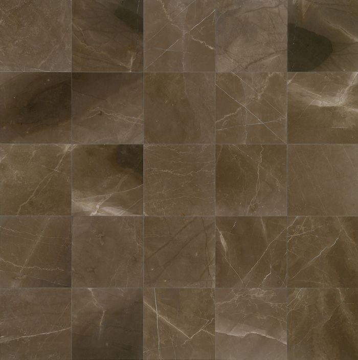 Brown Suede Marble Honed Finish.