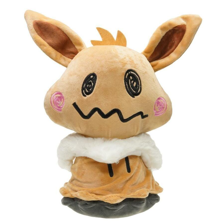 Pokemon Mimikyu Cosplay Sylveon Poke Plush Doll 12 In.