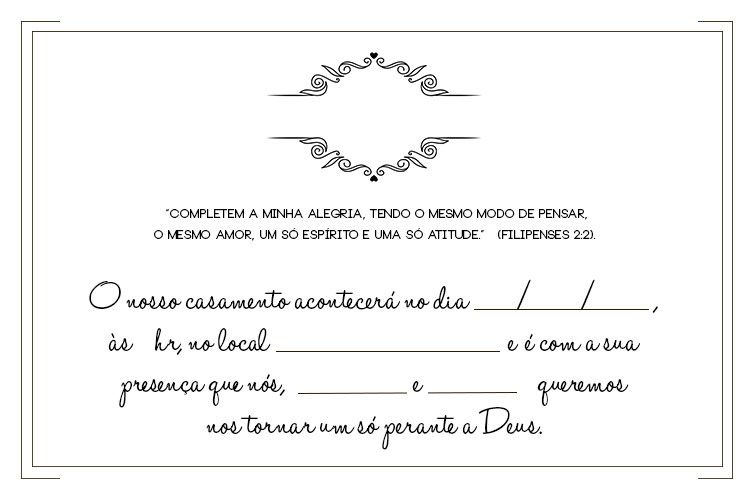 convites de casamento para imprimir modelos para editar modelos