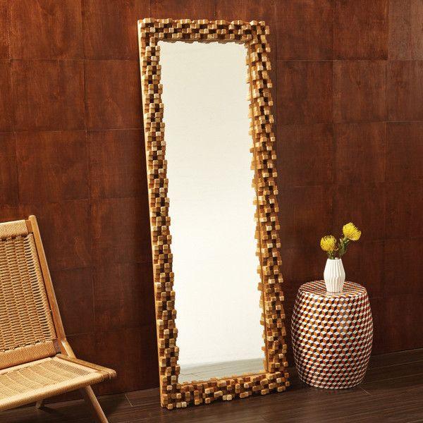 Tozai Home Nodus Tall Mirror Tozaihome Interiordesign Homedecor Mirrors Monkeypodwood