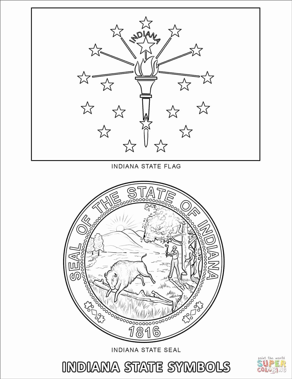 Washington State Flower Coloring Page Beautiful Color