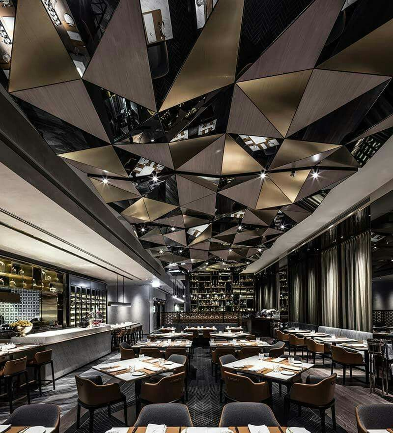 Pin By Sabrina Young On Ceilings Restaurant Interior Design