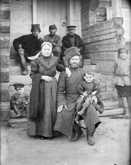 Ethnically Russian people. Siberia