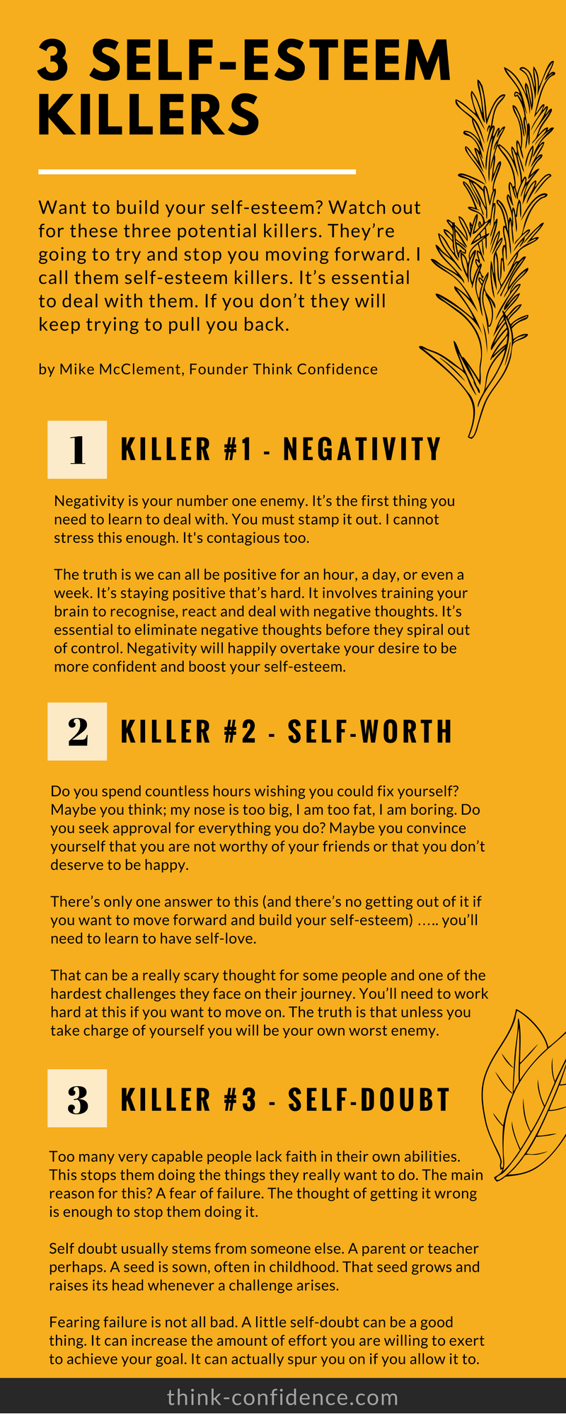 Low Self Esteem. 10 ideas you can try straight