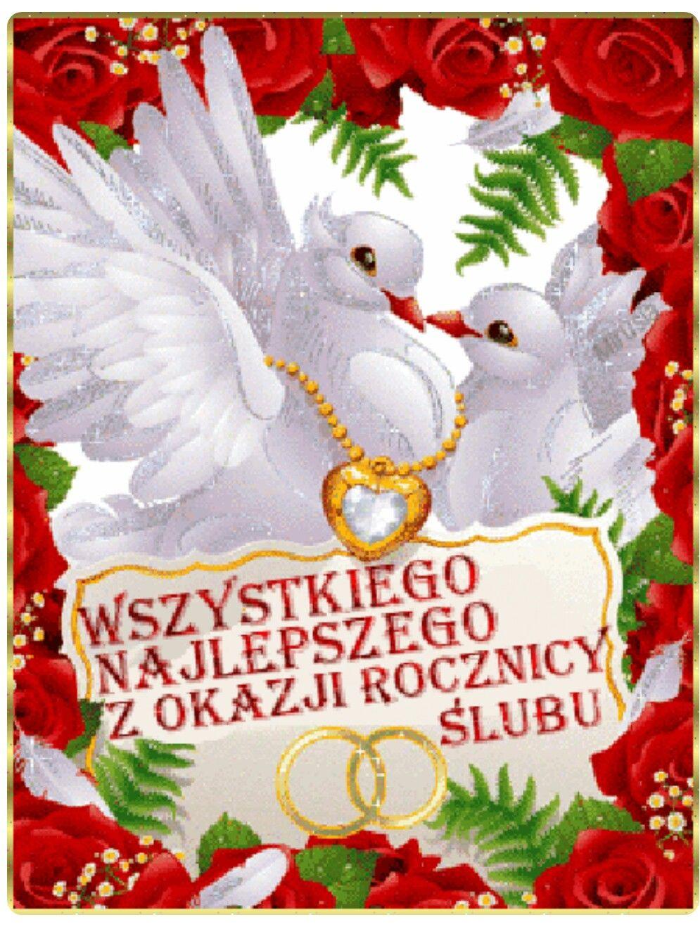 Pin By Irena Adamczyk On Gifki Ozdoby Swiateczne Slub Rocznica
