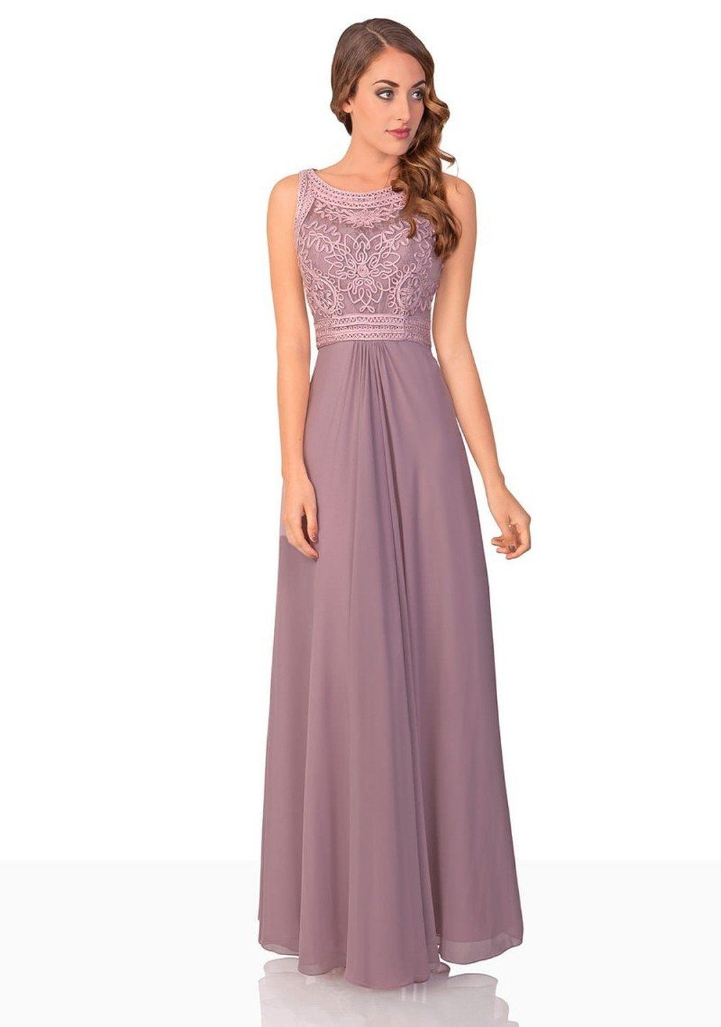 VIP Dress Abendkleid Chiffon / langes Ballkleid / Jugendweihekleid ...