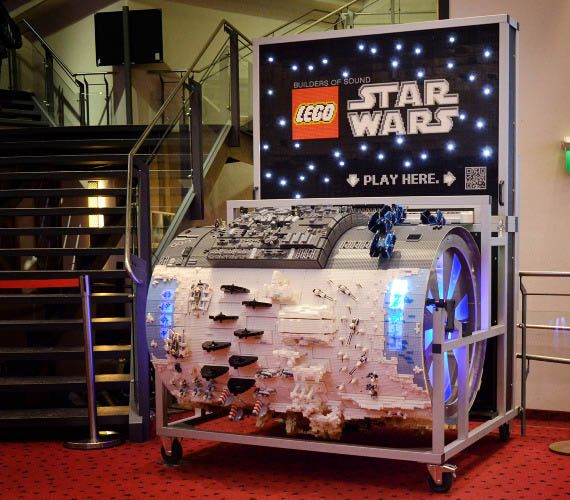 LEGO Star Wars Barrel Organ | Incredible Things