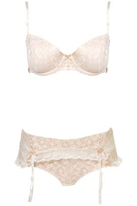 9fd041907dfed Leafy Lace Strapless Bra with matching suspenders and Mini - Lingerie Sets  - Lingerie - Clothing