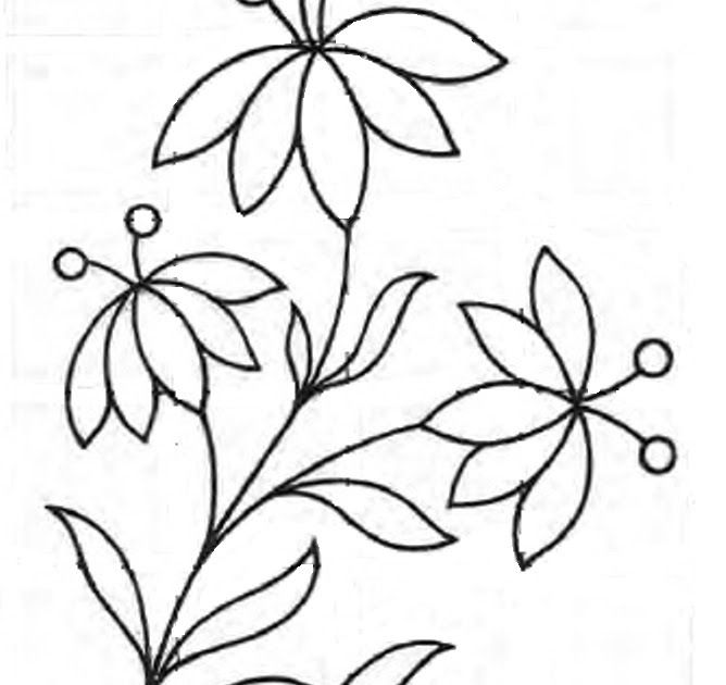 Its Time For An Free Embroidery Pattern This Is A Very Simple