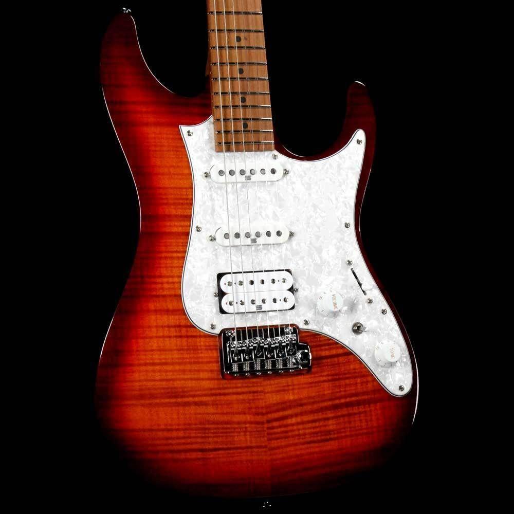 Ibanez Az Premium Az224f Brown Topaz Burst 211p01180623287 Ibanez Ibanez Guitars Guitar Cord