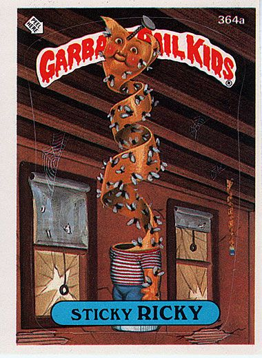 Media Martinsimmons Net Pictures Garbage Pail Kids Garbage Pail Kids Garbage Pail Kids Cards Pail