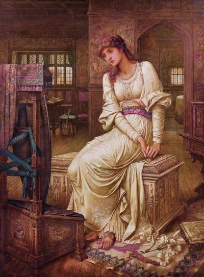 Elaine, 1891, John Melhuish Strudwick