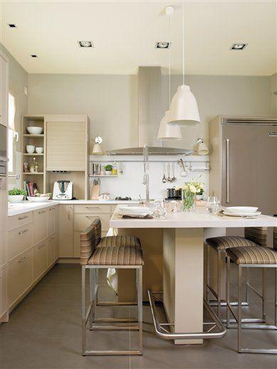 Desayuno comida o cena en la cocina pinterest cocinas for Cocinas modernas chiquitas