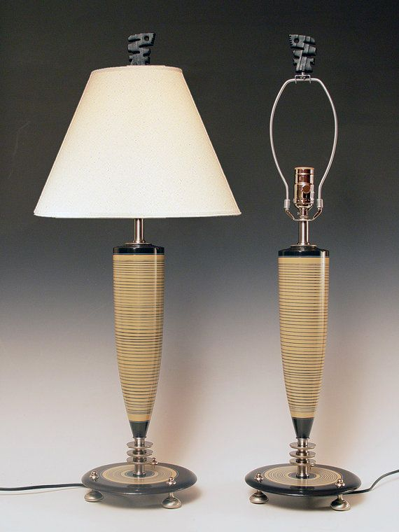 Matching Pair Table Lamps Bedside Lamps By Highdesertdreams Bedside Lamp Table Lamp Lamp