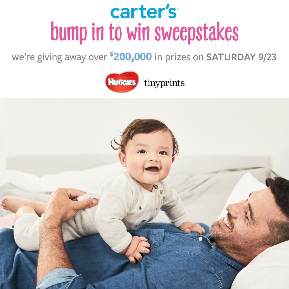 Sweepstakes for baby items