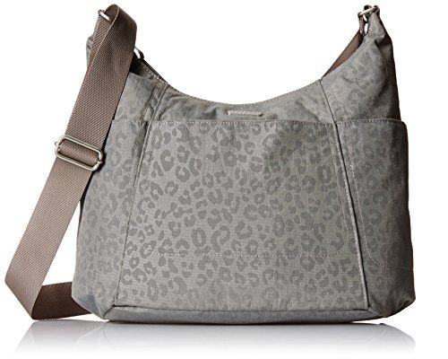 7b2bb9a1613f9 Women s Shoulder Bags - Baggallini Hobo Travel Tote Pewter Cheetah One Size    Check out the image by visiting the link.