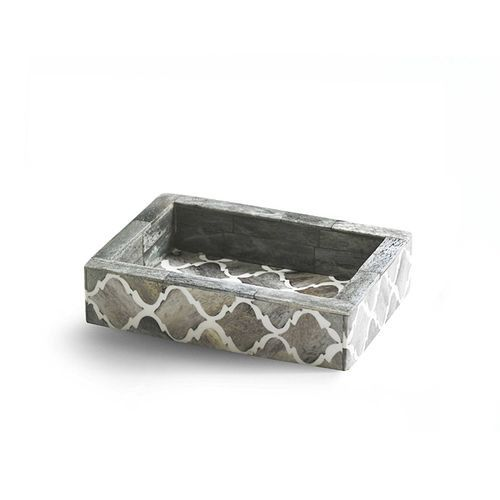 Marrakesh Natural Bone Soap Dish
