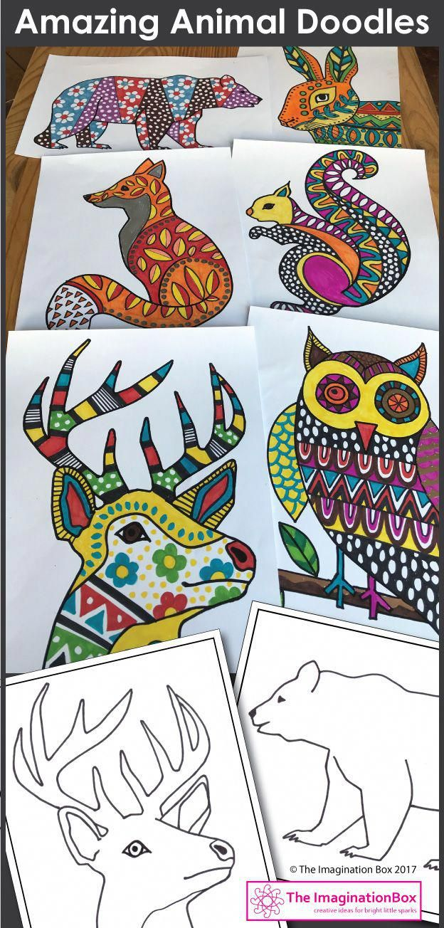 Winter coloring pages animal art u writing activities art