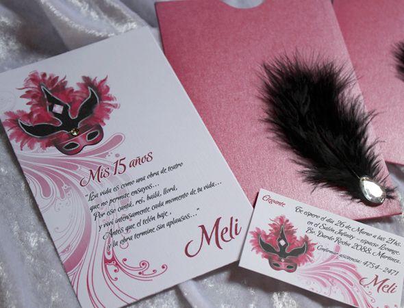 Invitaciones de 15 a os para disfraces tarjetas de 15 - Fiesta de disfraces ideas ...