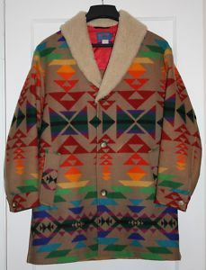 88e7601ee57 Pendleton Indian Blanket Coat