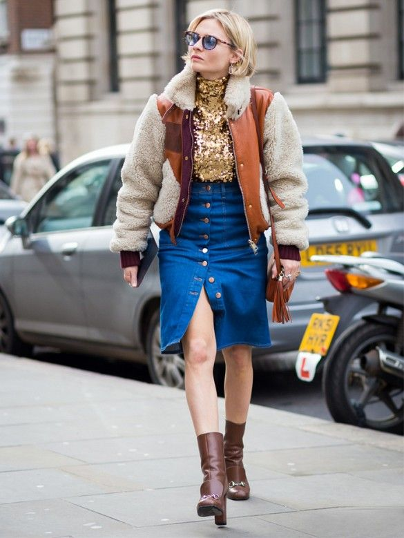 17 Best images about Denim Skirt with buttons on Pinterest | Denim ...