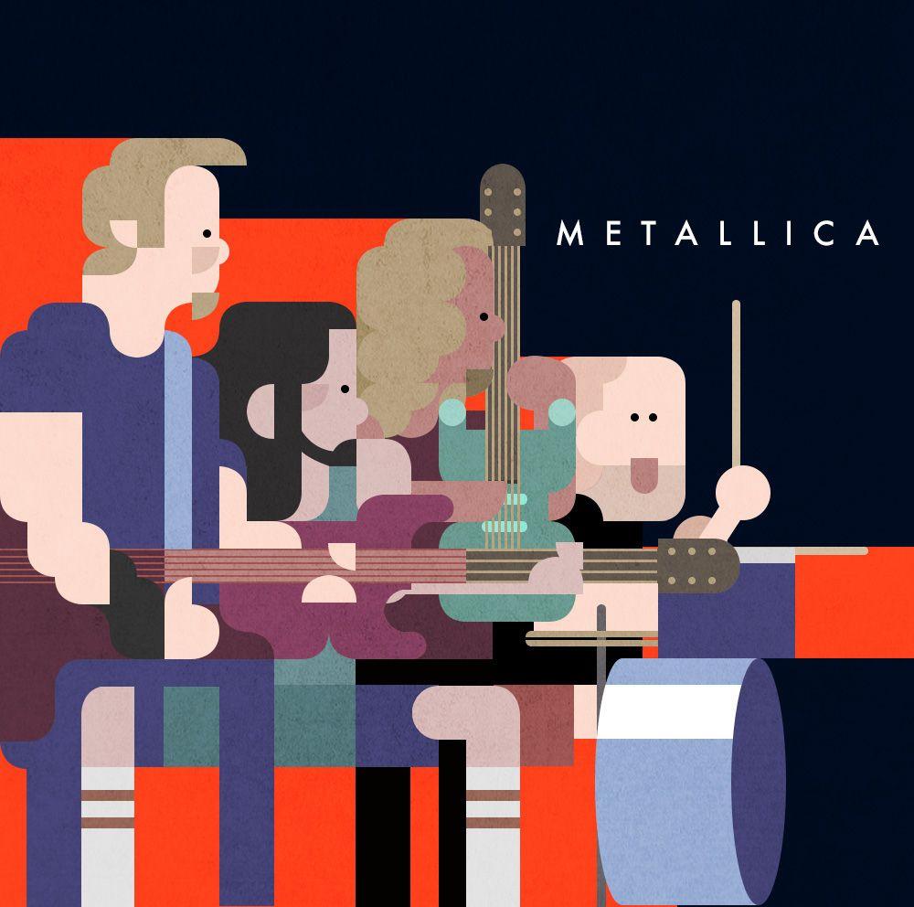 다음 @Behance 프로젝트 확인: \u201cMetallica Illust\u201d https://www.behance.net/gallery/46728749/Metallica-Illust