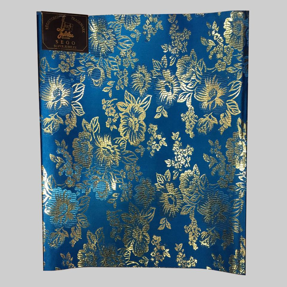 4d3a69843b10e Find More Fabric Information about 2pcs lot light blue &gold ...