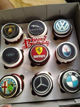 malachi living euro cars cupcakes cupcake malachi living euro cars cupcakes