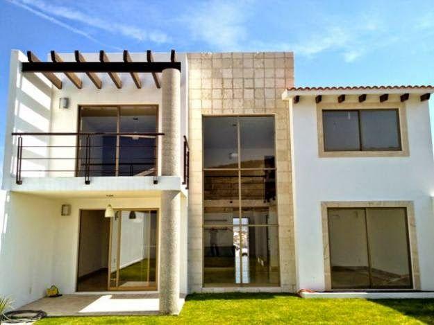 Casas modernas balcones buscar con google - Casas con chimeneas modernas ...