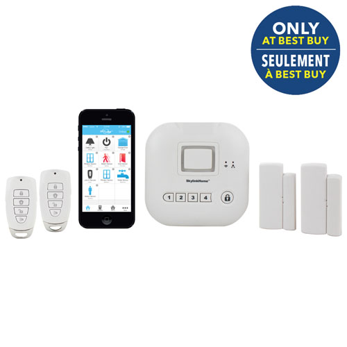 Skylinknet Security Solutions Home Alarm System With Keychain Remote Skbb 4s Home Security Systems Wireless Home Security Systems Security Cameras For Home
