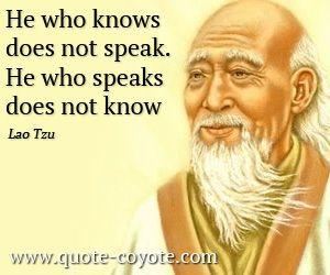 Lao Tzu Quotes Lao Tzu Vindicating Introverts  Enlightenment  Pinterest  Lao Tzu