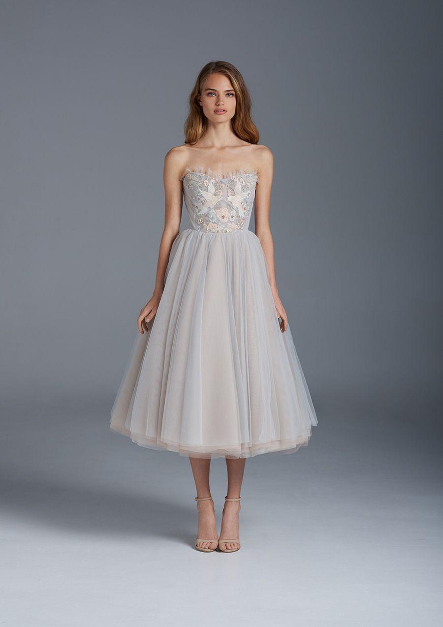 awesome Модные короткие свадебные платья — Кружевные ...