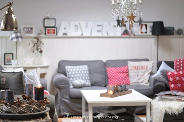Advent Wenig Zeit Seelensachen Wohnzimmer Sachen