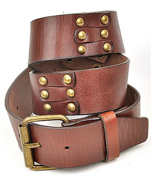 Lime Lush Boutique - Brown Studded Belt, $11.99 (http://www.limelush.com/brown-studded-belt/)