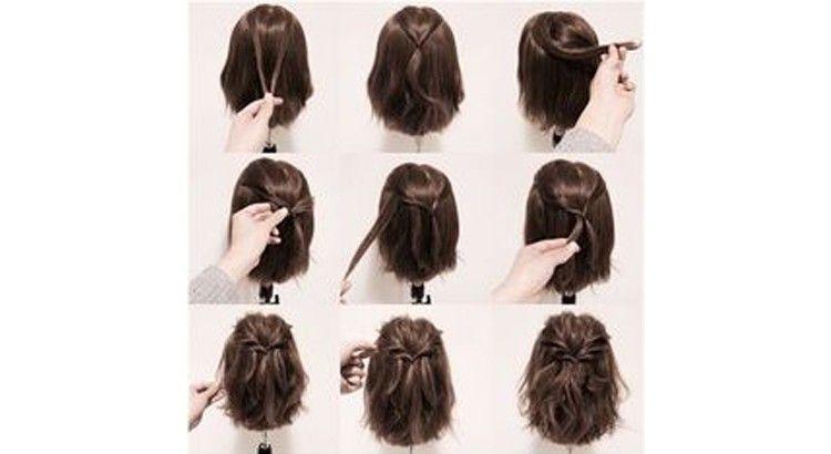 Cheveux mi longs : 20 coiffures pour être stylée en simplicité   Cheveux mi long, Coiffure ...