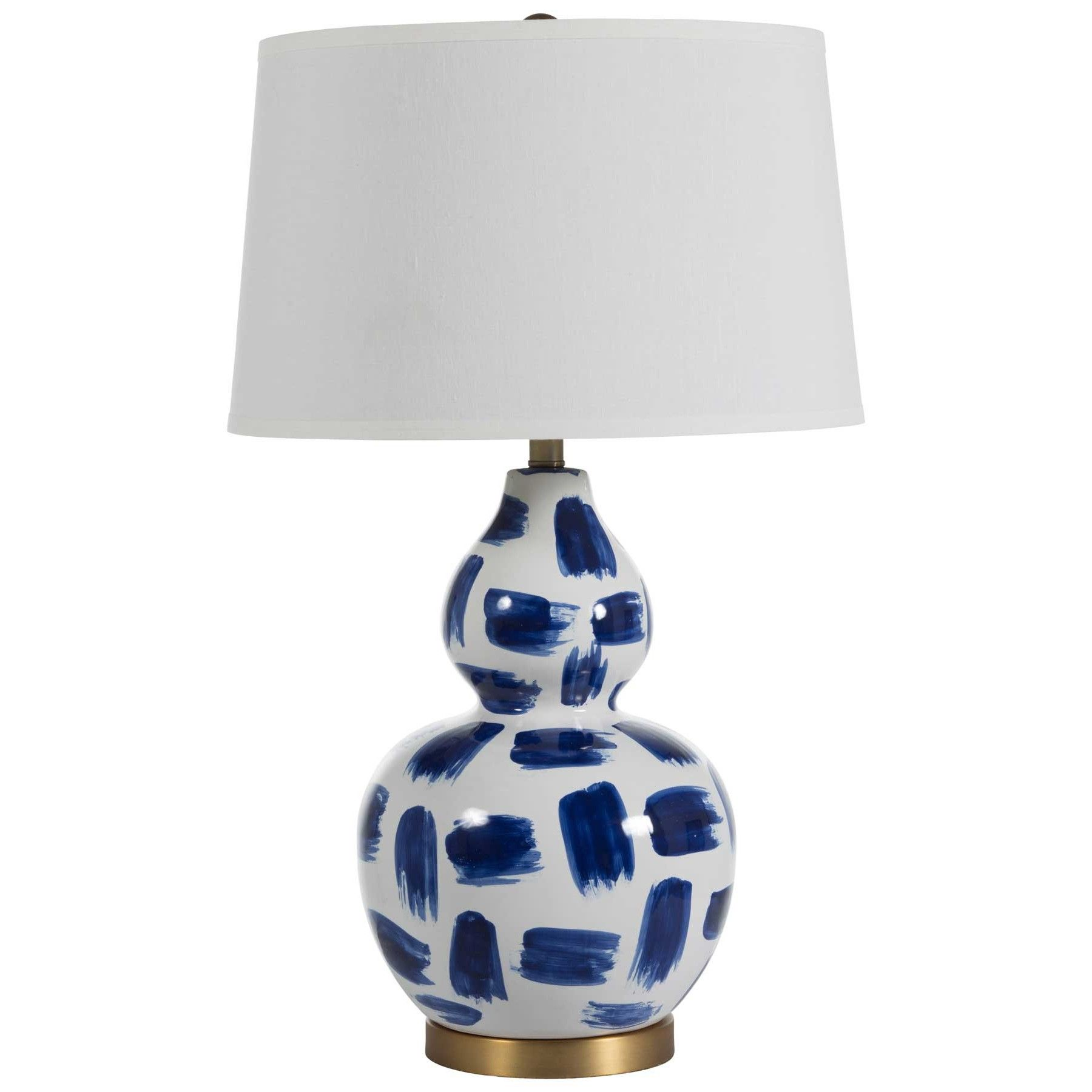 Gabby Luca Table Lamp Blue And White Lamp Ceramic Table Lamps Lamp