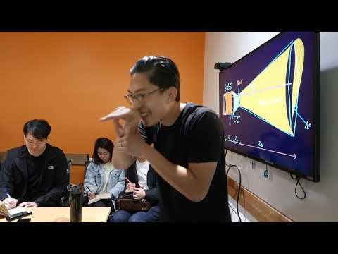 Behind the Scenes - ERIC KIM Discover Your Unique Voice Workshop 2018 - Video Shared by Ahlijah Scha