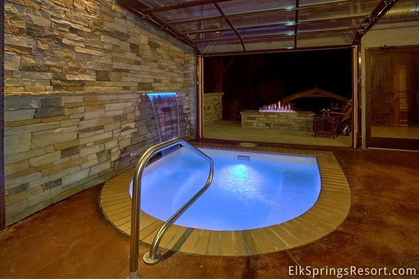 Romantic Indoor Pool Cabin Gatlinburg Cabins Gatlinburg Cabin Rentals Cabins In Gatlinburg Tn