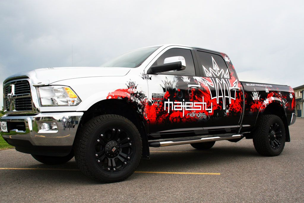 Great Use Of Colour And Layout Vehicle Wrap Ideas Pinterest - Custom truck decals vinyls