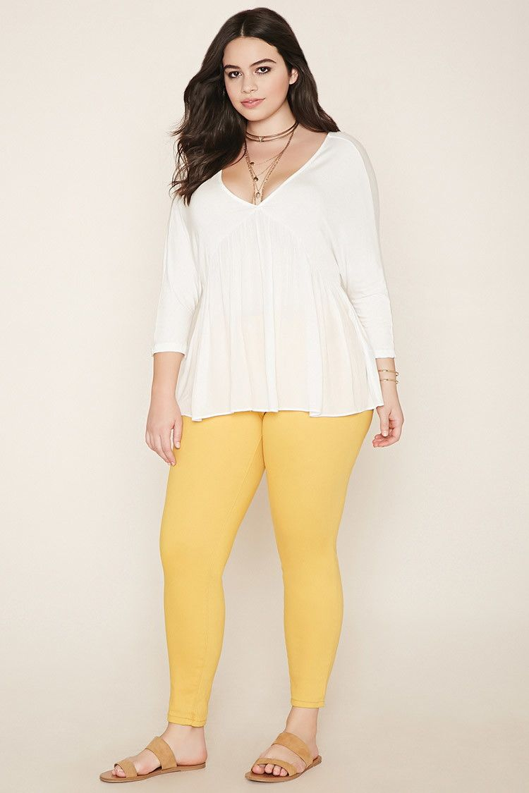 8cbd4a30c2d3c Plus Size Skinny Jeans