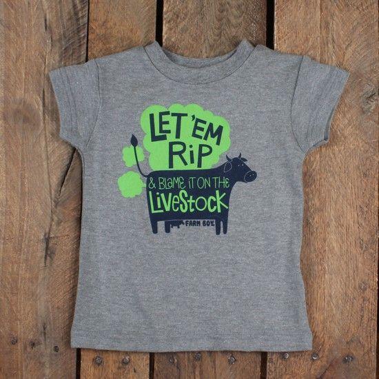 Farm+Boy+Blame+The+Livestock+T-Shirt | Farm shirt, Shirts ...