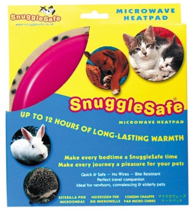 Snuggle Safe Microwave Heating Pad For Dogs Cats