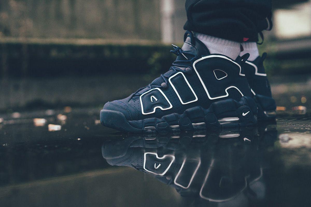 On Foot Nike Air More Uptempo 96 Obsidian Eu Kicks Sneaker Magazine Nike Air Uptempo Sneaker Magazine Nike Air