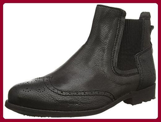 Yellow Cab CAST W, Damen Chelsea Boots, Schwarz (Black), 36